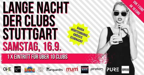 1. Lange Nacht der Clubs Stuttgart