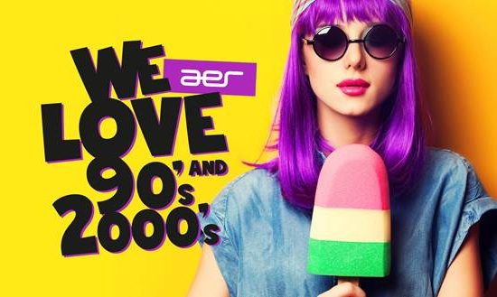We LOVE 90s & 2000s | AER Club | Fr. 15.12.2017 ab 23h