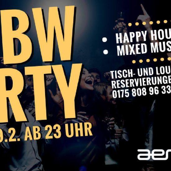 DHBW Party ||| Freitag, 09.02.18 ||| ab 23 Uhr ||| AER Club